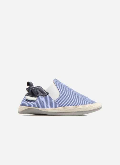 Slippers Robeez Summer Camp Blue back view