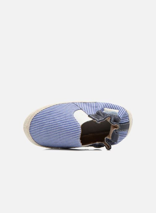 Pantofole Robeez Summer Camp Azzurro immagine sinistra