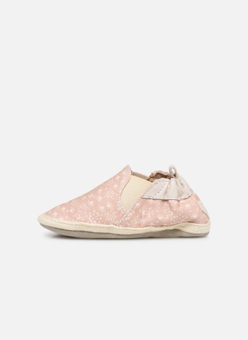 Chaussons Robeez Summer Camp Rose vue face