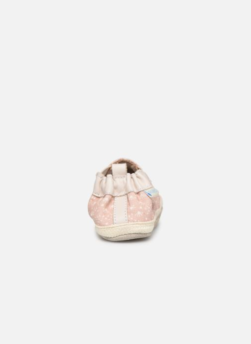 Chaussons Robeez Summer Camp Rose vue droite