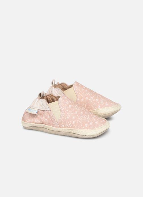 Hausschuhe Robeez Summer Camp rosa detaillierte ansicht/modell