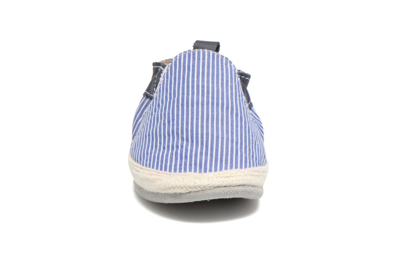 Chaussons Robeez Summer Camp Bleu vue portées chaussures