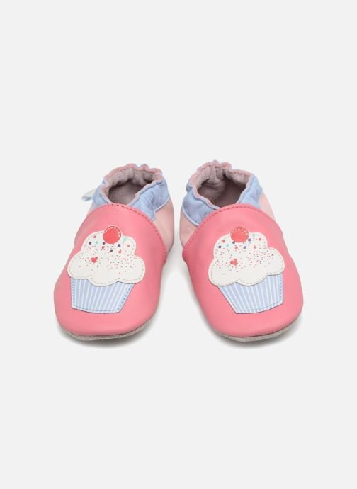 Chaussons Robeez Cupe Cake Rose vue 3/4