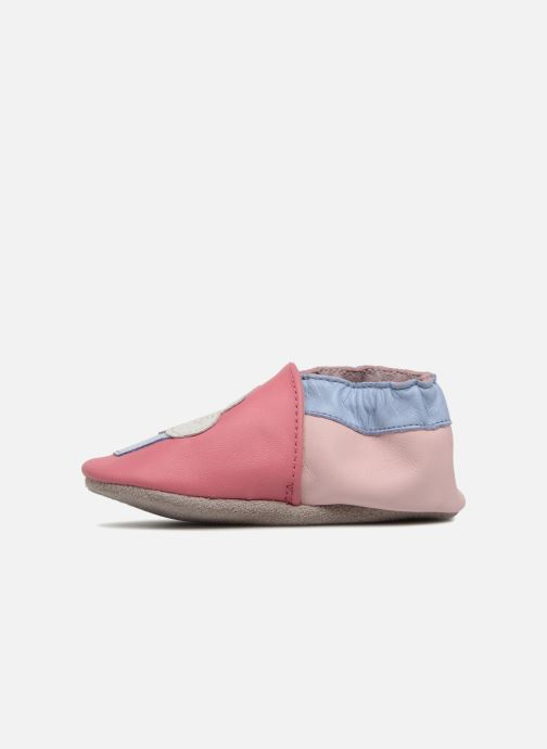 Chaussons Robeez Cupe Cake Rose vue face