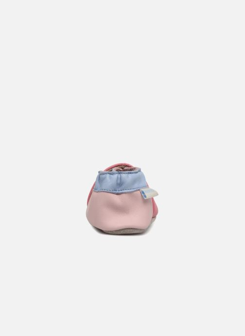 Chaussons Robeez Cupe Cake Rose vue droite
