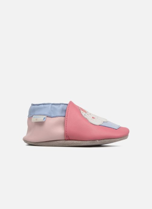 Chaussons Robeez Cupe Cake Rose vue derrière