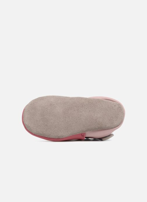 Chaussons Robeez Cupe Cake Rose vue haut