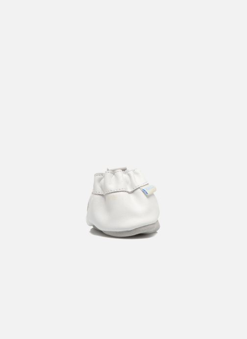 Pantofole Robeez Pretty Girl Bianco immagine destra
