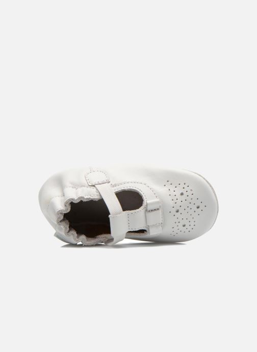 Pantofole Robeez Pretty Girl Bianco immagine sinistra