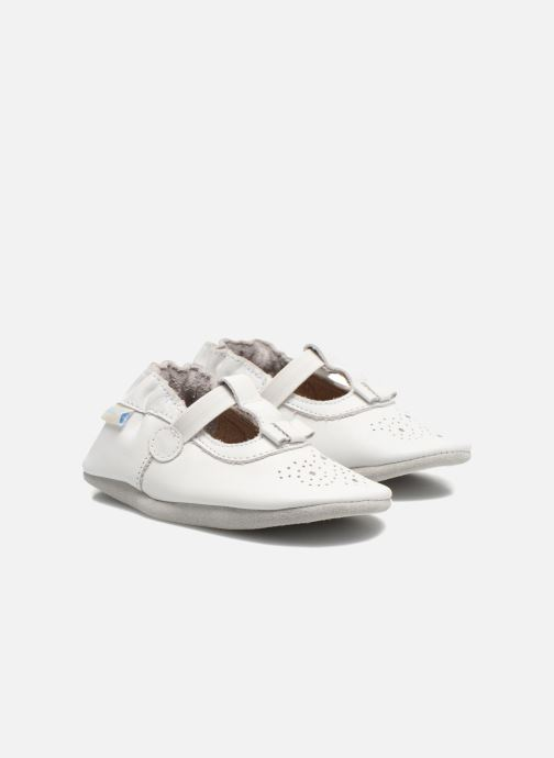 Pantofole Robeez Pretty Girl Bianco vedi dettaglio/paio