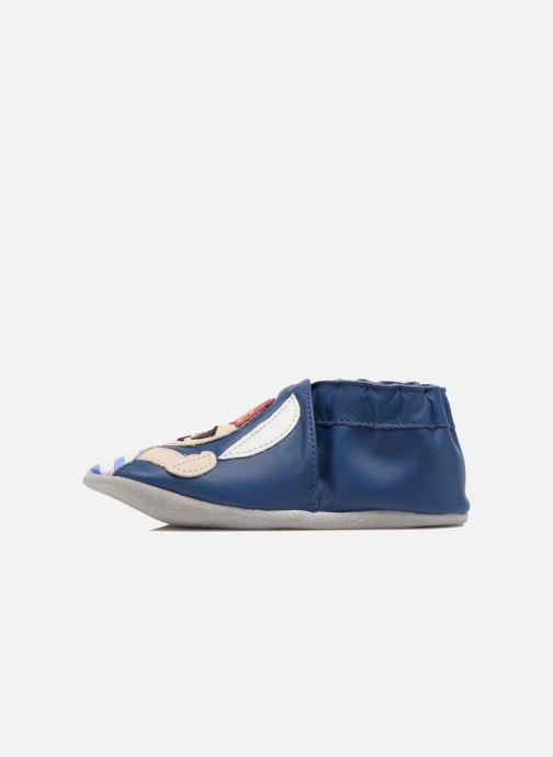 Pantofole Robeez Jolly Peg Azzurro immagine frontale
