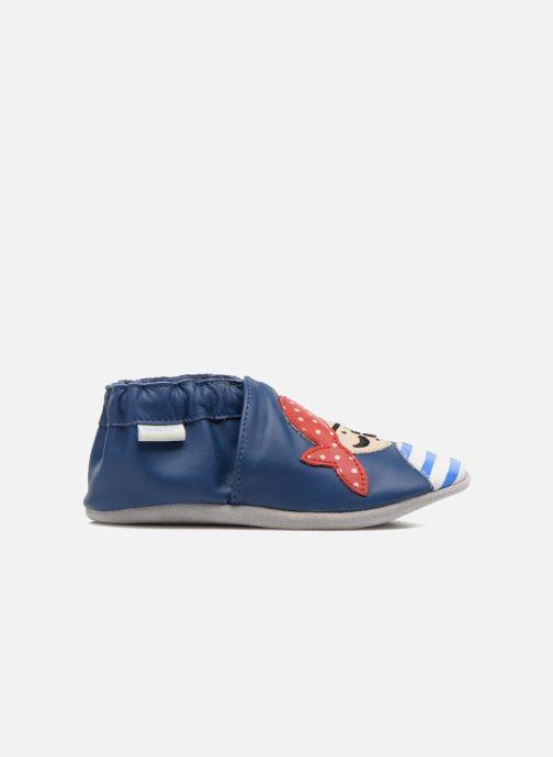 Pantofole Robeez Jolly Peg Azzurro immagine posteriore