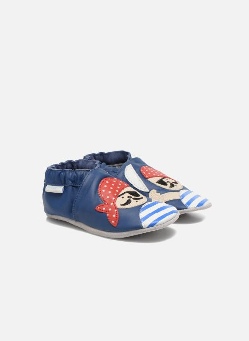 Pantofole Robeez Jolly Peg Azzurro vedi dettaglio/paio