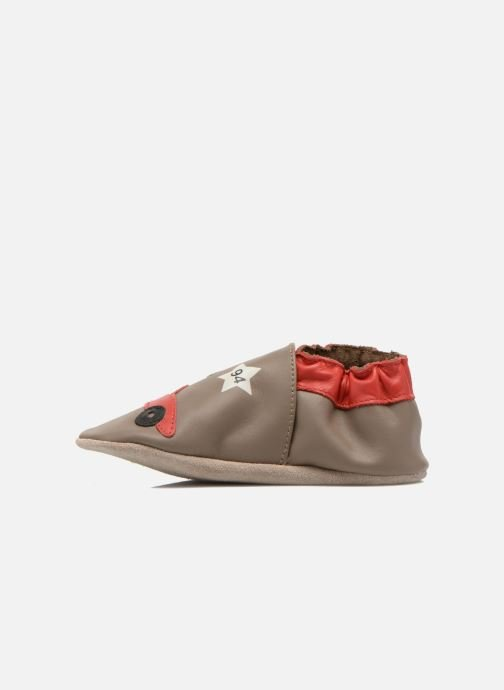 Pantofole Robeez Rally Party Beige immagine frontale