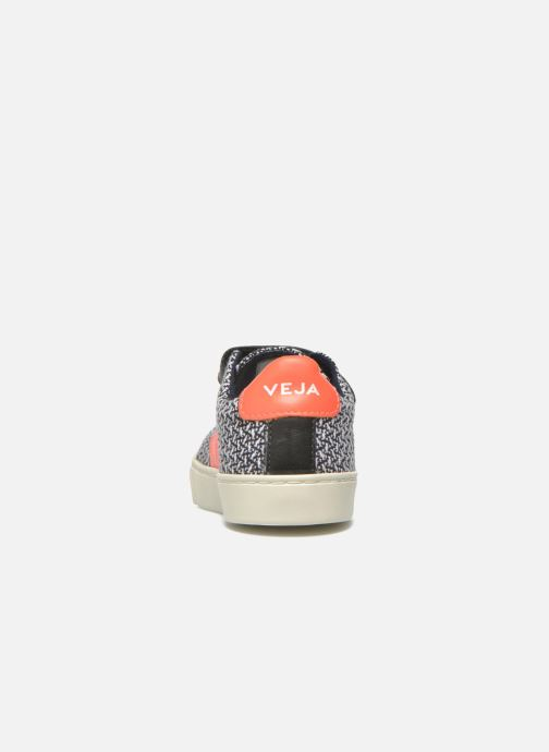 Trainers Veja Esplar Small Velcro Black view from the right