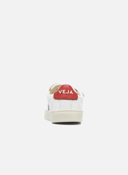 Baskets Veja Esplar Small Velcro Blanc vue droite
