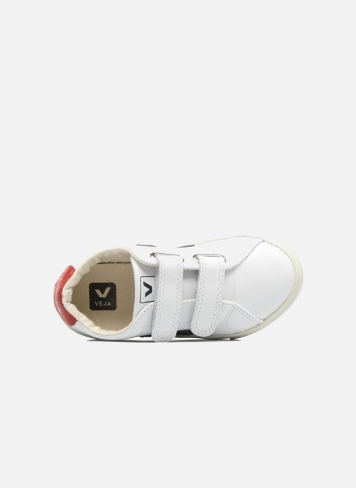Trainers Veja Esplar Small Velcro White view from the left