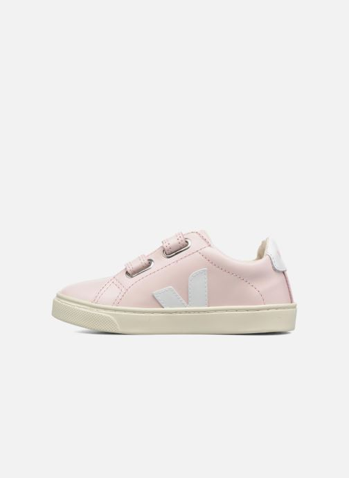 Trainers Veja Esplar Small Velcro Pink front view