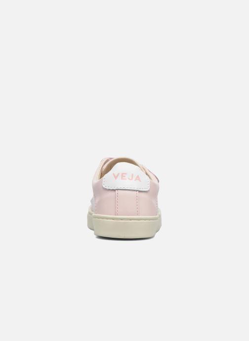 Sneakers Veja Esplar Small Velcro Roze rechts