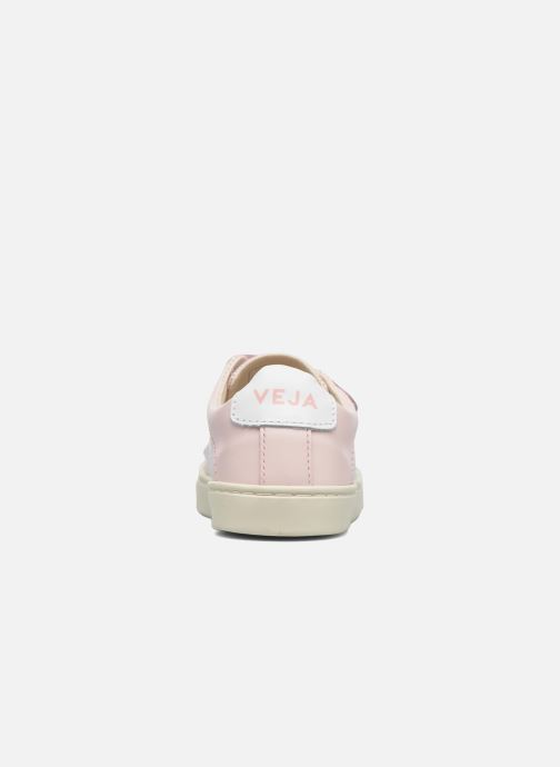 Trainers Veja Esplar Small Velcro Pink view from the right