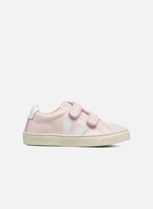 Sneakers Veja Esplar Small Velcro Roze achterkant