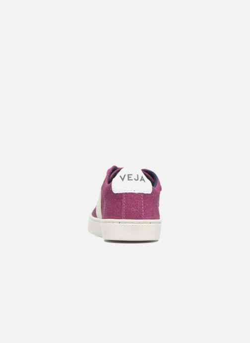 Baskets Veja Esplar Small Velcro Violet vue droite