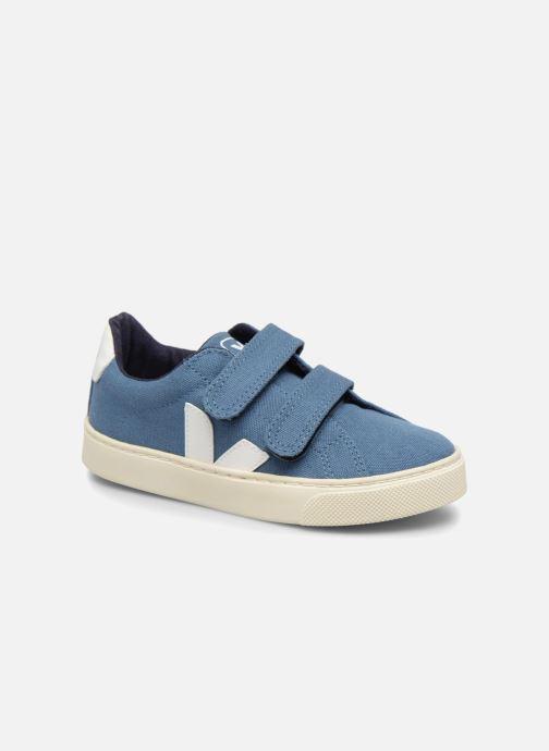 43799b47782 Sneakers Veja Esplar Small Velcro Beige detaljeret billede af skoene