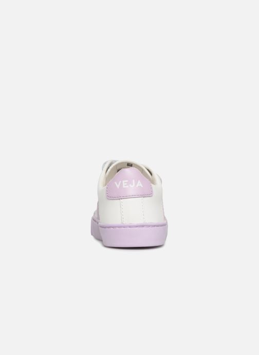 Trainers Veja Esplar Small Velcro White view from the right