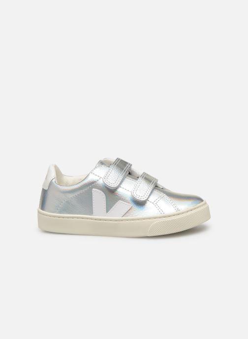Sneakers Veja Esplar Small Velcro Argento immagine posteriore