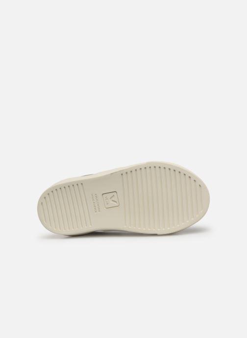 Sneakers Veja Esplar Small Velcro Argento immagine dall'alto