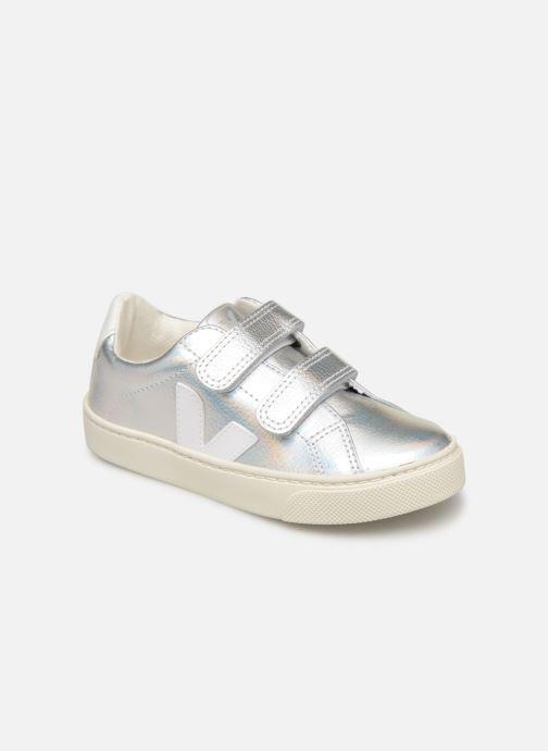 Sneakers Veja Esplar Small Velcro Argento vedi dettaglio/paio