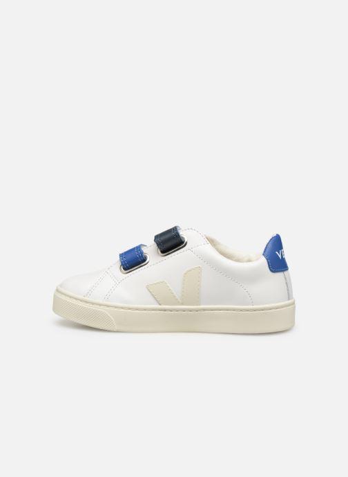 Sneakers Veja Esplar Small Velcro Bianco immagine frontale