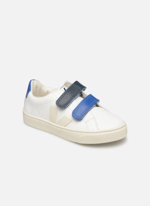Sneaker Veja Esplar Small Velcro weiß detaillierte ansicht/modell