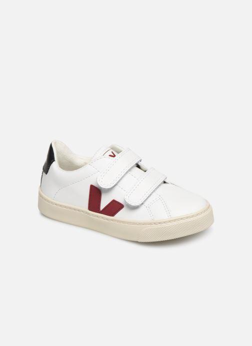 Baskets Veja Esplar Small Velcro Blanc vue détail/paire