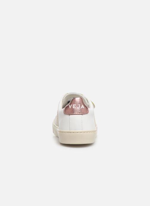 Sneaker Veja Esplar Small Velcro weiß ansicht von rechts