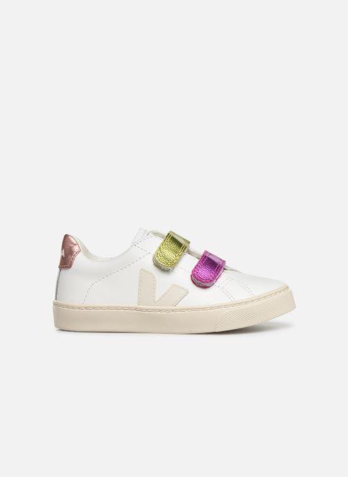 Baskets Veja Esplar Small Velcro Blanc vue derrière