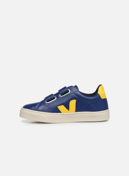 Sneakers Veja Esplar Small Velcro Azzurro immagine frontale