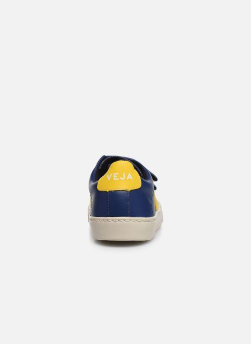 Baskets Veja Esplar Small Velcro Bleu vue droite