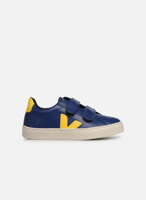 Sneakers Veja Esplar Small Velcro Azzurro immagine posteriore