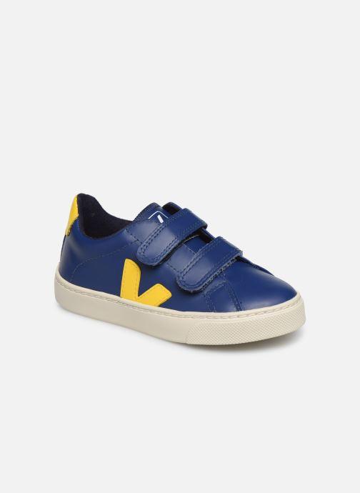 Sneakers Veja Esplar Small Velcro Azzurro vedi dettaglio/paio