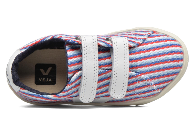 Deportivas Veja Esplar Small Velcro Multicolor vista lateral izquierda