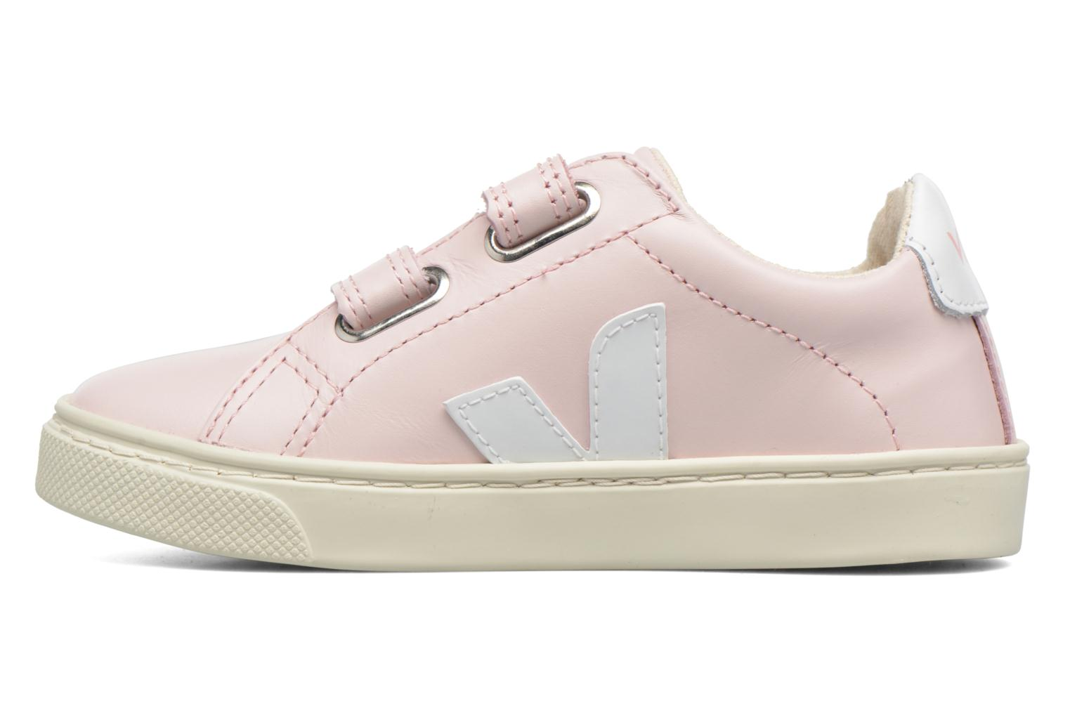 Baskets Veja Esplar Small Velcro Rose vue face
