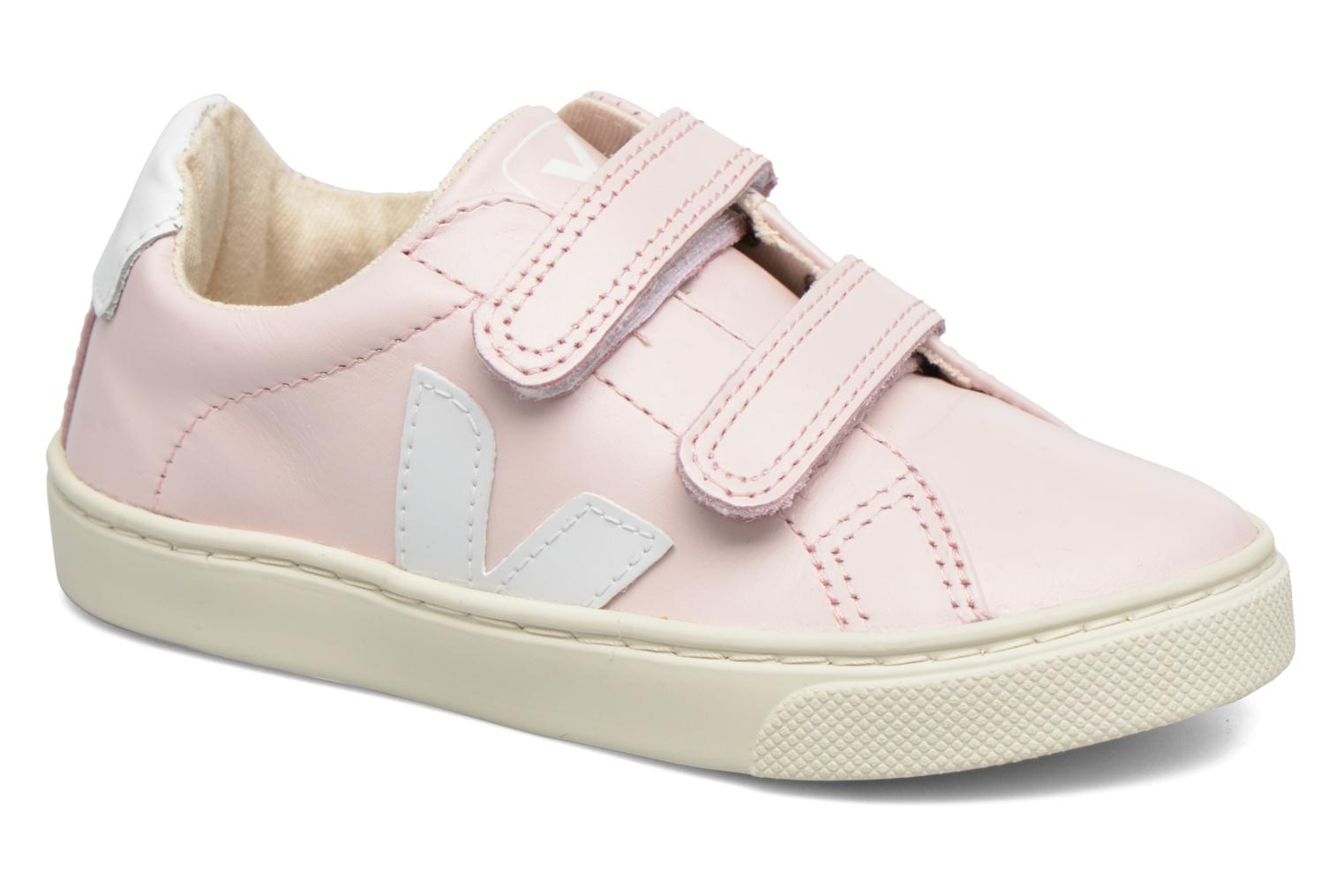 Baskets Veja Esplar Small Velcro Rose vue détail/paire