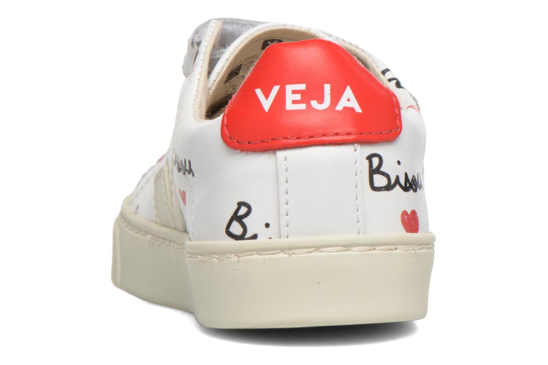 Baskets Veja Esplar Small Velcro Multicolore vue droite