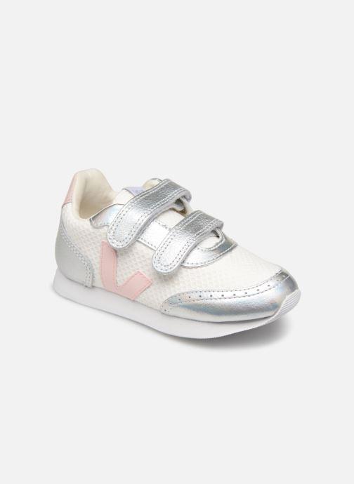Sneakers Veja Arcade Small Hvid detaljeret billede af skoene