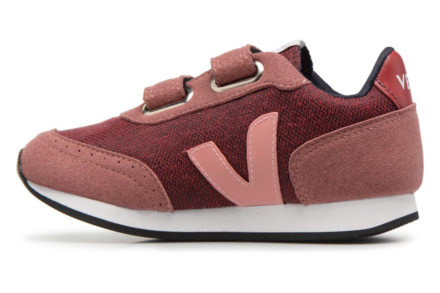 Trainers Veja Arcade Small Burgundy front view