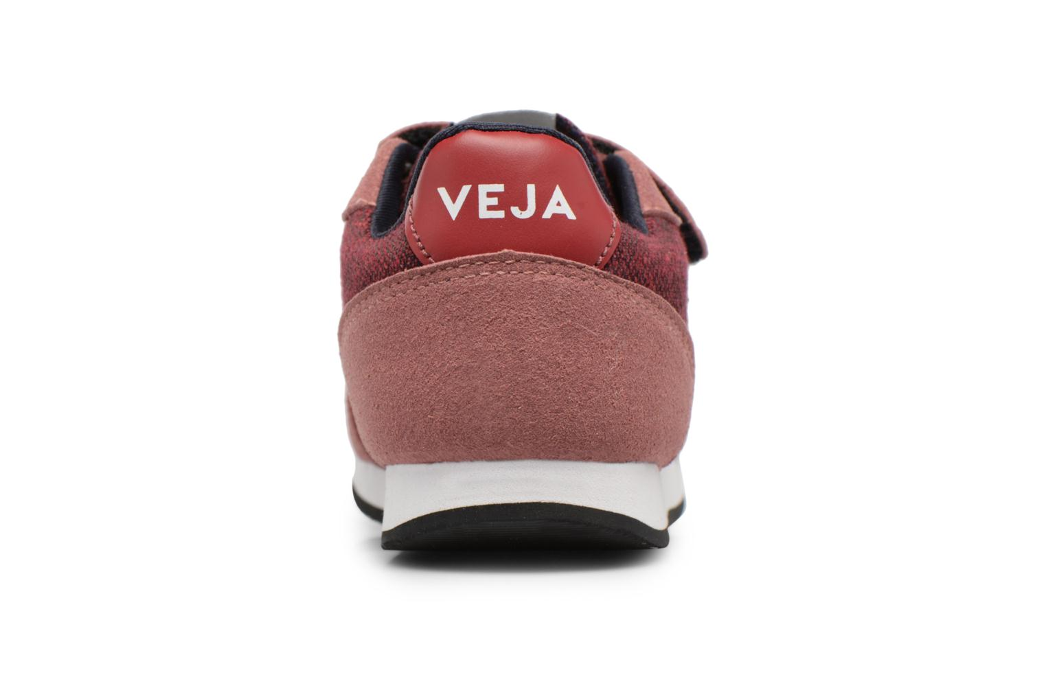 Trainers Veja Arcade Small Burgundy view from the right