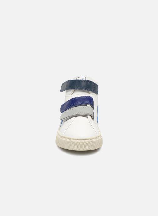 Trainers Veja Esplar Mid Small Velcro Beige model view
