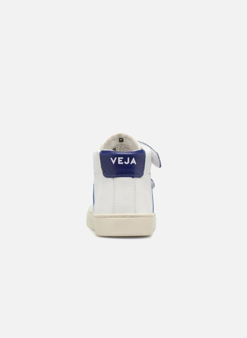 Trainers Veja Esplar Mid Small Velcro Beige view from the right