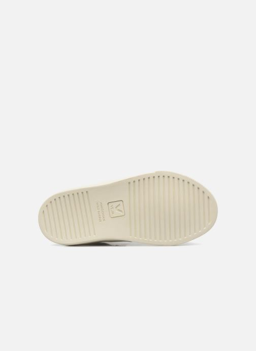 Trainers Veja Esplar Mid Small Velcro Beige view from above